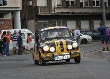 Αναμνηστικός αγώνας αυτοκινήτων Στοκ φωτογραφίες με δικαίωμα ελεύθερης χρήσης