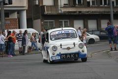Αναμνηστικός αγώνας αυτοκινήτων Στοκ φωτογραφία με δικαίωμα ελεύθερης χρήσης