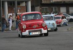 Αναμνηστικός αγώνας αυτοκινήτων Στοκ εικόνα με δικαίωμα ελεύθερης χρήσης