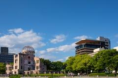 Αναμνηστικός ατομικός θόλος βομβών ειρήνης της Χιροσίμα Στοκ Εικόνα