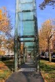 Αναμνηστικός κήπος ολοκαυτώματος, που τιμά τα θύματα και τους επιζόντες WWII των στρατοπέδων συγκέντρωσης, Βοστώνη, Μασαχουσέτη, π Στοκ εικόνα με δικαίωμα ελεύθερης χρήσης