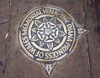 αναμνηστικός περίπατος της Ουαλίας πριγκηπισσών Diana Στοκ εικόνα με δικαίωμα ελεύθερης χρήσης