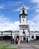 Αναμνηστικός πύργος ρολογιών Ipoh στοκ εικόνα με δικαίωμα ελεύθερης χρήσης