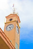 Αναμνηστικός πύργος ρολογιών Στοκ εικόνα με δικαίωμα ελεύθερης χρήσης