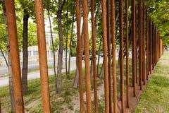 Αναμνηστικός χαρακτηρισμός τειχών του Βερολίνου Στοκ εικόνες με δικαίωμα ελεύθερης χρήσης