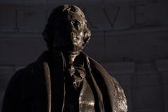 Αναμνηστικό άγαλμα του Jefferson στοκ εικόνες
