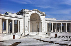 Αναμνηστικό αμφιθέατρο νεκροταφείων του Άρλινγκτον εθνικό στοκ φωτογραφίες