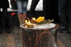 Αναμνηστικό κερί Στοκ εικόνες με δικαίωμα ελεύθερης χρήσης