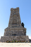 Αναμνηστικό μνημείο στην αιχμή Shipka, Βουλγαρία Στοκ εικόνα με δικαίωμα ελεύθερης χρήσης