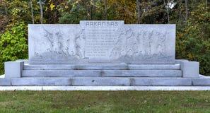 Αναμνηστικό μνημείο του Αρκάνσας, Gettysburg, PA Στοκ Φωτογραφίες