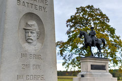 Αναμνηστικό μνημείο, Gettysburg, PA Στοκ φωτογραφία με δικαίωμα ελεύθερης χρήσης