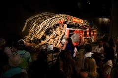 9 11 αναμνηστικό μουσείο Νέα Υόρκη στοκ εικόνες με δικαίωμα ελεύθερης χρήσης