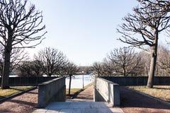 Αναμνηστικό νεκροταφείο Piskaryovskoye Στοκ Φωτογραφία