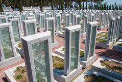 Αναμνηστικό πάρκο για τους τουρκικούς μάρτυρες σε Canakkale Τουρκία Στοκ Εικόνα