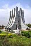 Αναμνηστικό πάρκο Nkrumah Kwame - Άκρα, Γκάνα στοκ εικόνες