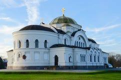 Αναμνηστικό σύνθετο φρούριο ηρώων του Brest Εκκλησία φρουρών του Άγιου Βασίλη Στοκ Εικόνα