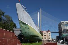 Αναμνηστικό υποβρύχιο μουσείο s-56 στο Βλαδιβοστόκ, Primorsky Krai μέσα Στοκ Εικόνες