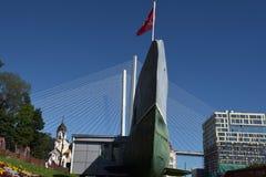 Αναμνηστικό υποβρύχιο μουσείο s-56 στο Βλαδιβοστόκ, Primorsky Krai μέσα Στοκ φωτογραφία με δικαίωμα ελεύθερης χρήσης