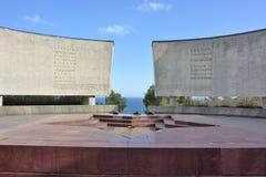 Αναμνηστικό Hill ` της δόξας ` σε Yalta Στοκ Εικόνες