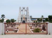 αναμνηστικό nkrumah της Άκρα Γκάν&alph Στοκ Εικόνες