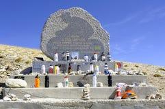 Αναμνηστικό stela του Tom Simpson Στοκ Φωτογραφία