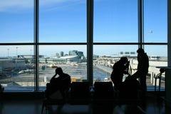 αναμονή αερολιμένων Στοκ Φωτογραφία
