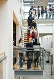 αναμονή ανθρώπων γραμμών Στοκ Φωτογραφία