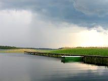 αναμονή βαρκών Στοκ εικόνες με δικαίωμα ελεύθερης χρήσης
