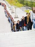 αναμονή γραμμών Στοκ εικόνα με δικαίωμα ελεύθερης χρήσης