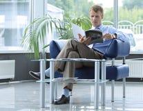 αναμονή δωματίων ανάγνωσης Στοκ Εικόνα