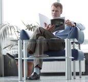αναμονή δωματίων ανάγνωσης Στοκ εικόνα με δικαίωμα ελεύθερης χρήσης