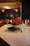 αναμονή επισκεπτών εστιατορίων Στοκ Εικόνα