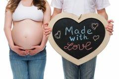 αναμονή ζευγών μωρών Στοκ εικόνα με δικαίωμα ελεύθερης χρήσης