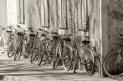 Αναμονή κύκλων Στοκ Φωτογραφία