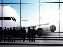 αναμονή πτήσης Στοκ Εικόνα
