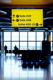 αναμονή πτήσης Στοκ φωτογραφίες με δικαίωμα ελεύθερης χρήσης