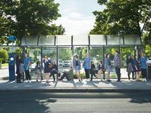 Αναμονή στο διάδρομο Στοκ φωτογραφία με δικαίωμα ελεύθερης χρήσης
