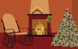 Αναμονή τα Χριστούγεννα Στοκ Εικόνες