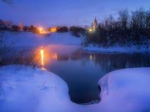 Αναμονή την αυγή στοκ εικόνα