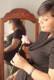 αναμονή της μητέρας s κοριτ&si Στοκ εικόνα με δικαίωμα ελεύθερης χρήσης