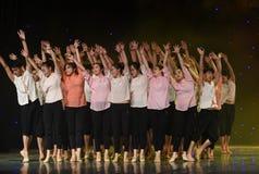 Αναμονή τον ήλιος-κινεζικό λαϊκό χορό Στοκ εικόνες με δικαίωμα ελεύθερης χρήσης