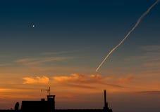 Αναμονή το ηλιοβασίλεμα του αύριο Στοκ φωτογραφία με δικαίωμα ελεύθερης χρήσης