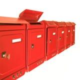 Αναμονή το ταχυδρομείο Στοκ φωτογραφία με δικαίωμα ελεύθερης χρήσης