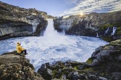Αναμονή το sunrice Στοκ Φωτογραφίες