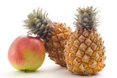 ανανάδες μήλων Στοκ Φωτογραφία