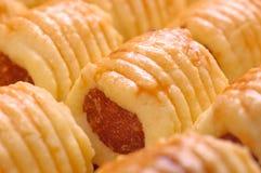 ανανάς μπισκότων στοκ εικόνες