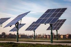 ανανεώσιμος ηλιακός ενεργειακών επιτροπών Στοκ φωτογραφία με δικαίωμα ελεύθερης χρήσης