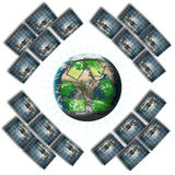 ανανεώσιμο στοιχείο συ&mu διανυσματική απεικόνιση