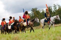 αναπαράσταση borodino μάχης Στοκ εικόνες με δικαίωμα ελεύθερης χρήσης