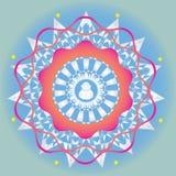 Αναπηδήστε το mandala εκδόσεων για το σχέδιο και την περισυλλογή διανυσματική απεικόνιση